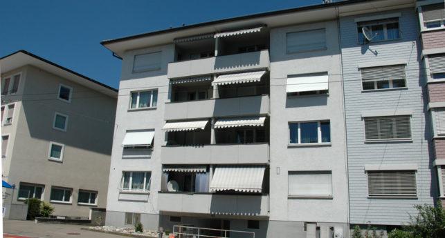 Aussenansicht Wohnung Lindstrasse in Winterthur von Ziegler Immobilien AG