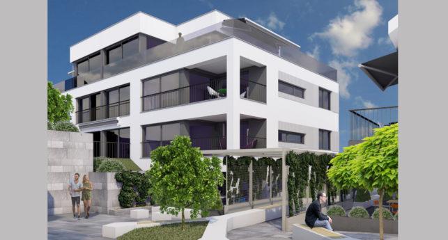 Neubauprojekt TRIO Alte Landstrasse in Thalwil